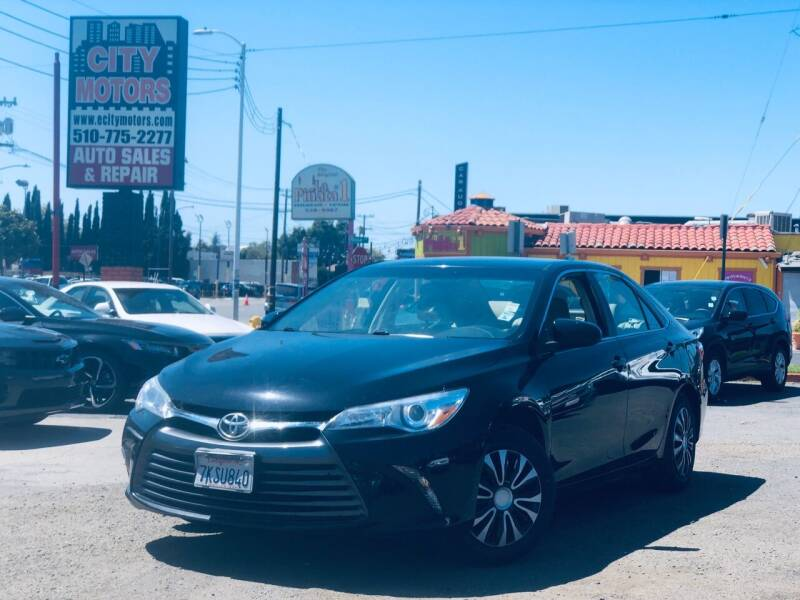 2015 Toyota Camry for sale at City Motors in Hayward CA