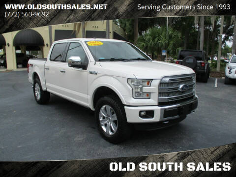 2015 Ford F-150 for sale at OLD SOUTH SALES in Vero Beach FL