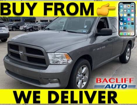 2012 RAM Ram Pickup 1500 for sale at Bacliff Auto in Bacliff TX