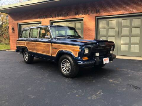 1987 Jeep Grand Wagoneer for sale at Jack Frost Auto Museum in Washington MI