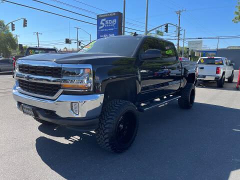 2018 Chevrolet Silverado 1500 for sale at 5 Star Auto Sales in Modesto CA