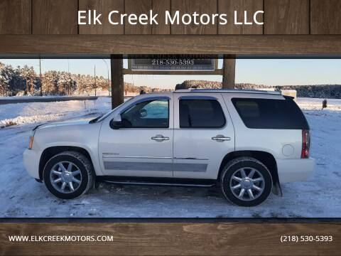 2013 GMC Yukon for sale at Elk Creek Motors LLC in Park Rapids MN