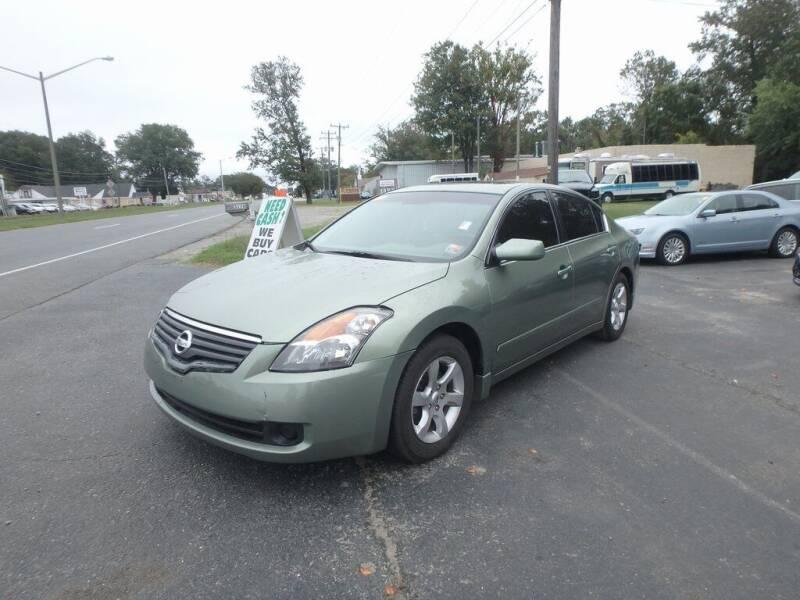 2008 Nissan Altima for sale at 6348 Auto Sales in Chesapeake VA