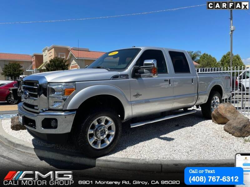 2016 Ford F-250 Super Duty for sale at Cali Motor Group in Gilroy CA