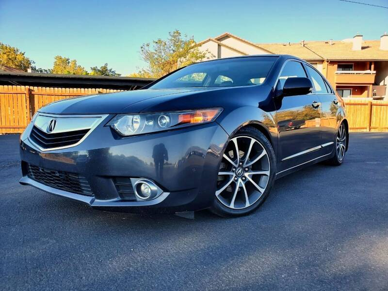 2012 Acura TSX for sale at INVICTUS MOTOR COMPANY in West Valley City UT