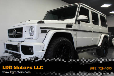 2013 Mercedes-Benz G-Class for sale at LRG Motors in Montclair CA