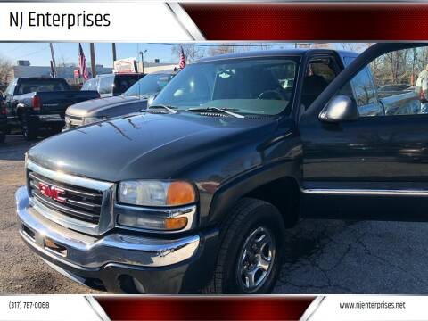 2004 GMC Sierra 1500 for sale at NJ Enterprises in Indianapolis IN