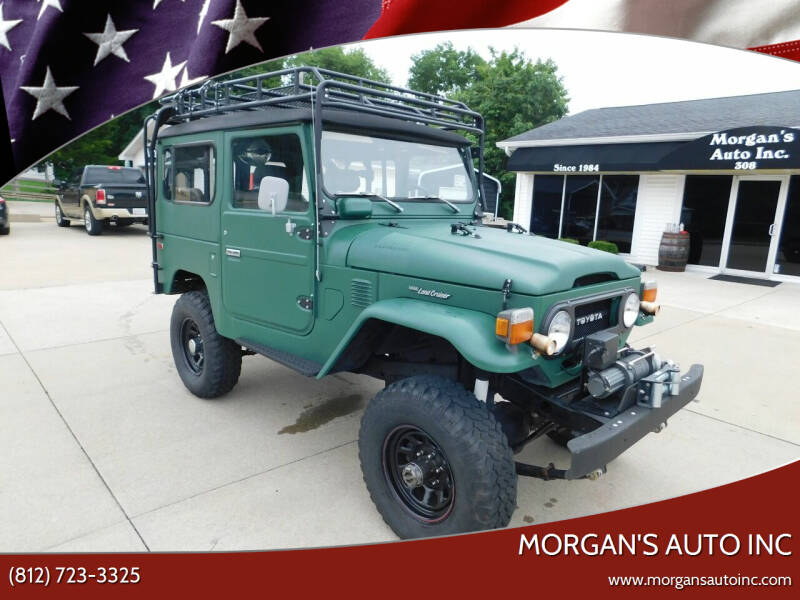 1978 Toyota Land Cruiser for sale at Morgan's Auto Inc in Paoli IN