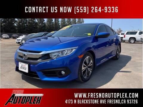 2017 Honda Civic for sale at Carros Usados Fresno in Clovis CA