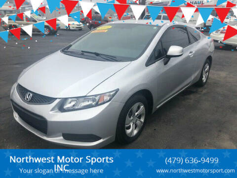 2013 Honda Civic for sale at Northwest Motor Sports INC in Rogers AR