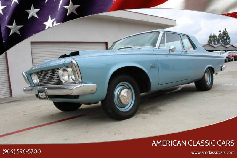 1963 Plymouth Belvedere for sale at American Classic Cars in La Verne CA