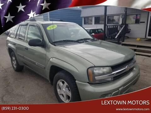 2004 Chevrolet TrailBlazer for sale at LexTown Motors in Lexington KY