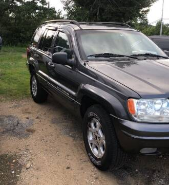 2002 Jeep Grand Cherokee for sale at Classic Heaven Used Cars & Service in Brimfield MA