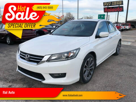 2014 Honda Accord for sale at Ital Auto in Oklahoma City OK