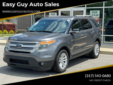 2014 Ford Explorer for sale at Easy Guy Auto Sales in Indianapolis IN