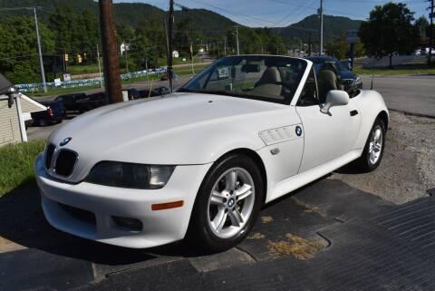 2001 BMW Z3 for sale at Gamble Motor Co in La Follette TN