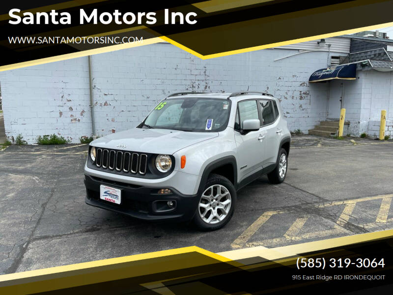2015 Jeep Renegade for sale at Santa Motors Inc in Rochester NY