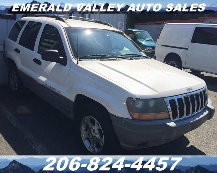 2000 Jeep Grand Cherokee for sale at Emerald Valley Auto Sales in Des Moines WA