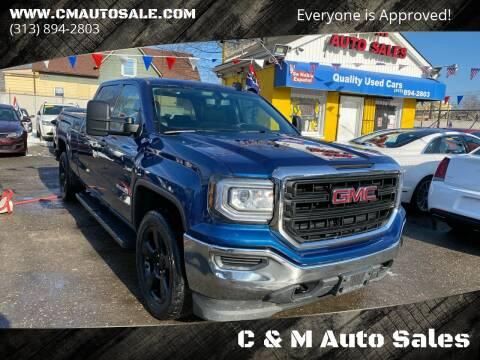 2017 GMC Sierra 1500 for sale at C & M Auto Sales in Detroit MI