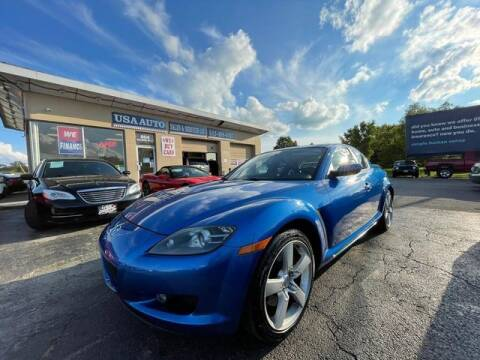 2004 Mazda RX-8 for sale at USA Auto Sales & Services, LLC in Mason OH