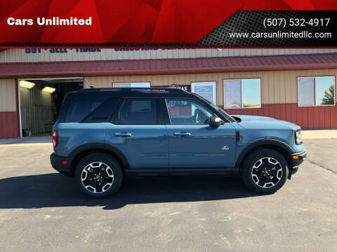 2021 Ford Bronco Sport for sale at Cars Unlimited in Marshall MN