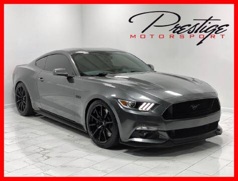2017 Ford Mustang for sale at Prestige Motorsport in Rancho Cordova CA