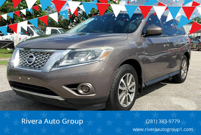 2014 Nissan Pathfinder for sale at Rivera Auto Group in Spring TX