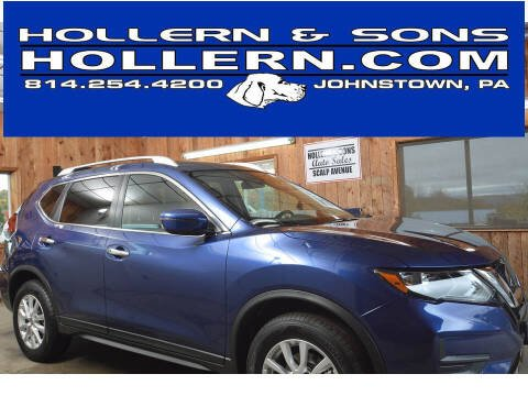 2020 Nissan Rogue for sale at Hollern & Sons Auto Sales in Johnstown PA