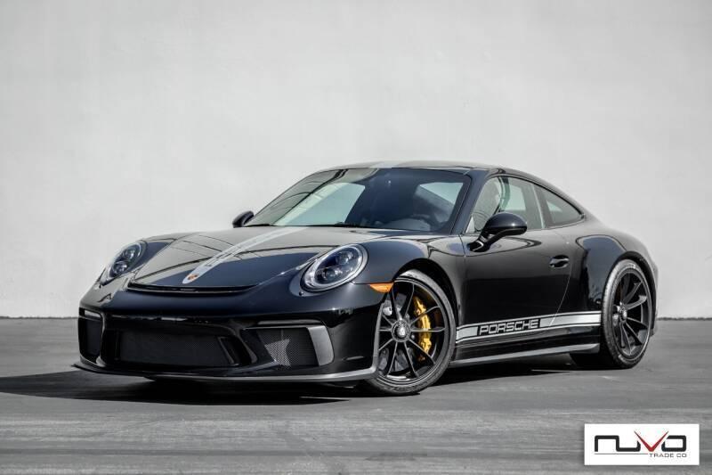 2018 Porsche 911 for sale at Nuvo Trade in Newport Beach CA