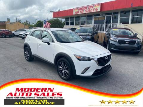 2017 Mazda CX-3 for sale at Modern Auto Sales in Hollywood FL