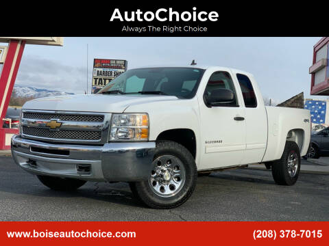 2012 Chevrolet Silverado 1500 for sale at AutoChoice in Boise ID