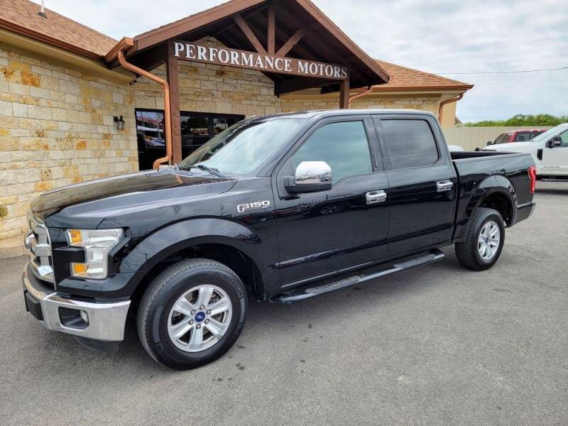 2016 Ford F-150 for sale at Performance Motors Killeen Second Chance in Killeen TX