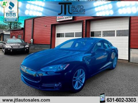 2014 Tesla Model S for sale at JTL Auto Inc in Selden NY
