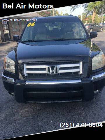 2006 Honda Pilot for sale at Bel Air Motors in Mobile AL