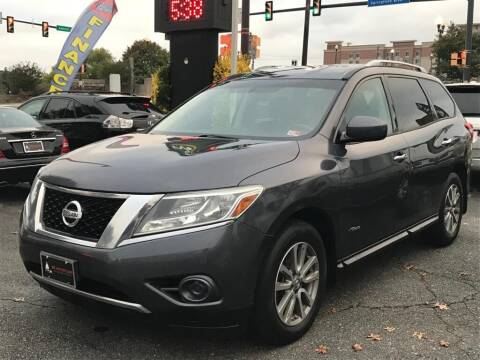 2014 Nissan Pathfinder Hybrid for sale at DC Motorcars in Springfield VA