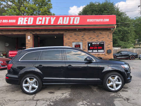 2012 Audi Q7 for sale at Red City  Auto in Omaha NE