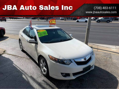 2010 Acura TSX for sale at JBA Auto Sales Inc in Stone Park IL
