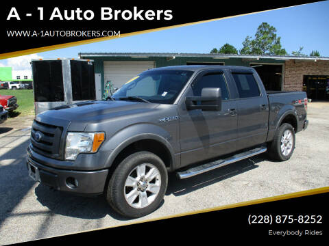 2010 Ford F-150 for sale at A - 1 Auto Brokers in Ocean Springs MS