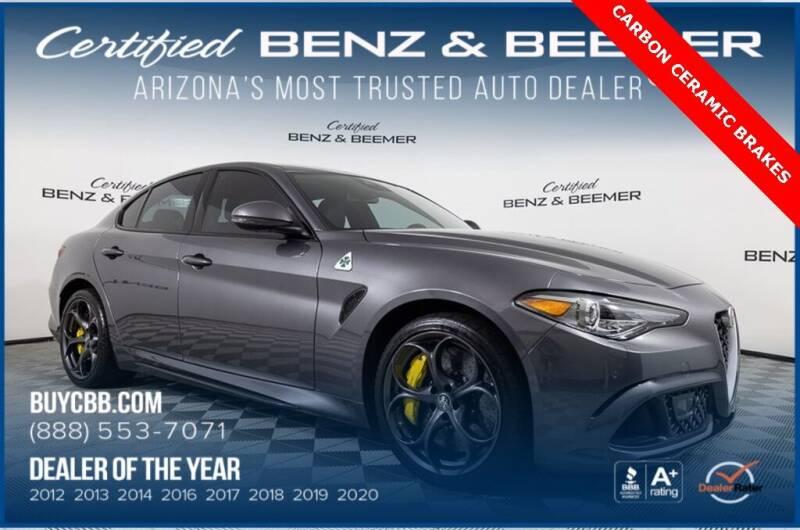 2018 Alfa Romeo Giulia Quadrifoglio for sale in Scottsdale, AZ
