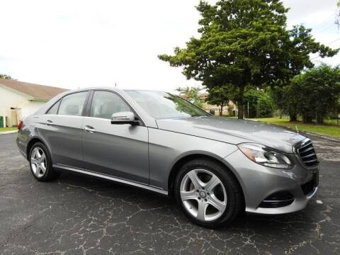 2015 Mercedes-Benz E-Class for sale at SUPER DEAL MOTORS 441 in Hollywood FL