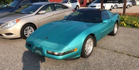 1991 Chevrolet Corvette for sale at Barga Motors in Tewksbury MA