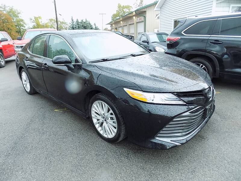 2018 Toyota Camry for sale at SUMMIT TRUCK & AUTO INC in Akron NY