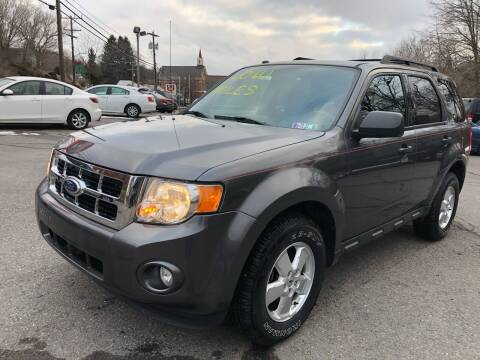 2011 Ford Escape for sale at SARRACINO AUTO SALES INC in Burgettstown PA