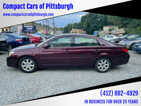 2006 Toyota Avalon for sale at Compact Cars of Pittsburgh in Pittsburgh PA