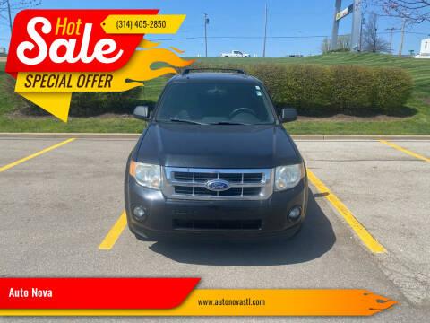 2012 Ford Escape for sale at Auto Nova in St Louis MO
