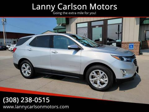 2018 Chevrolet Equinox for sale at Lanny Carlson Motors in Kearney NE