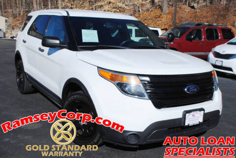 2013 Ford Explorer for sale at Ramsey Corp. in West Milford NJ