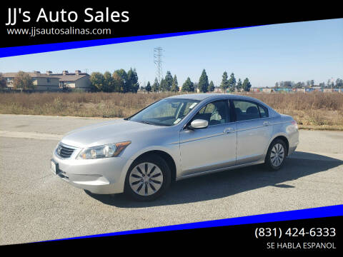 2010 Honda Accord for sale at JJ's Auto Sales in Salinas CA
