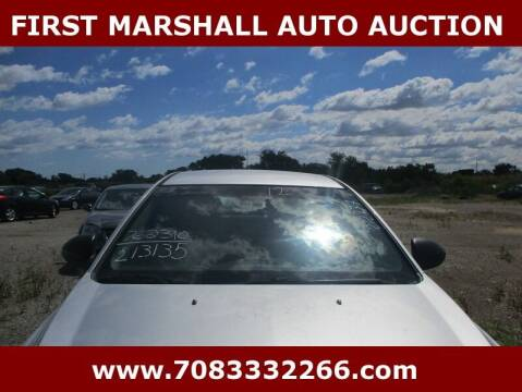 2012 Chevrolet Cruze for sale at First Marshall Auto Auction in Harvey IL