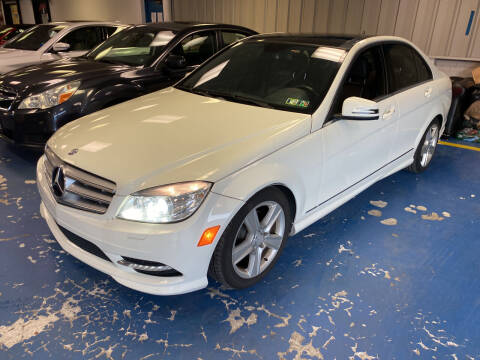 2011 Mercedes-Benz C-Class for sale at JerseyMotorsInc.com in Teterboro NJ